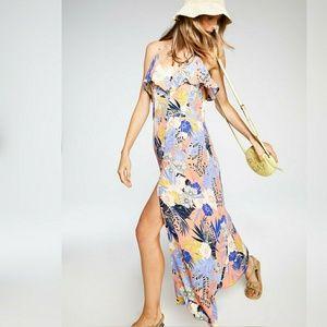 sanctuary NWOT Isabella Button Down Maxi Dress